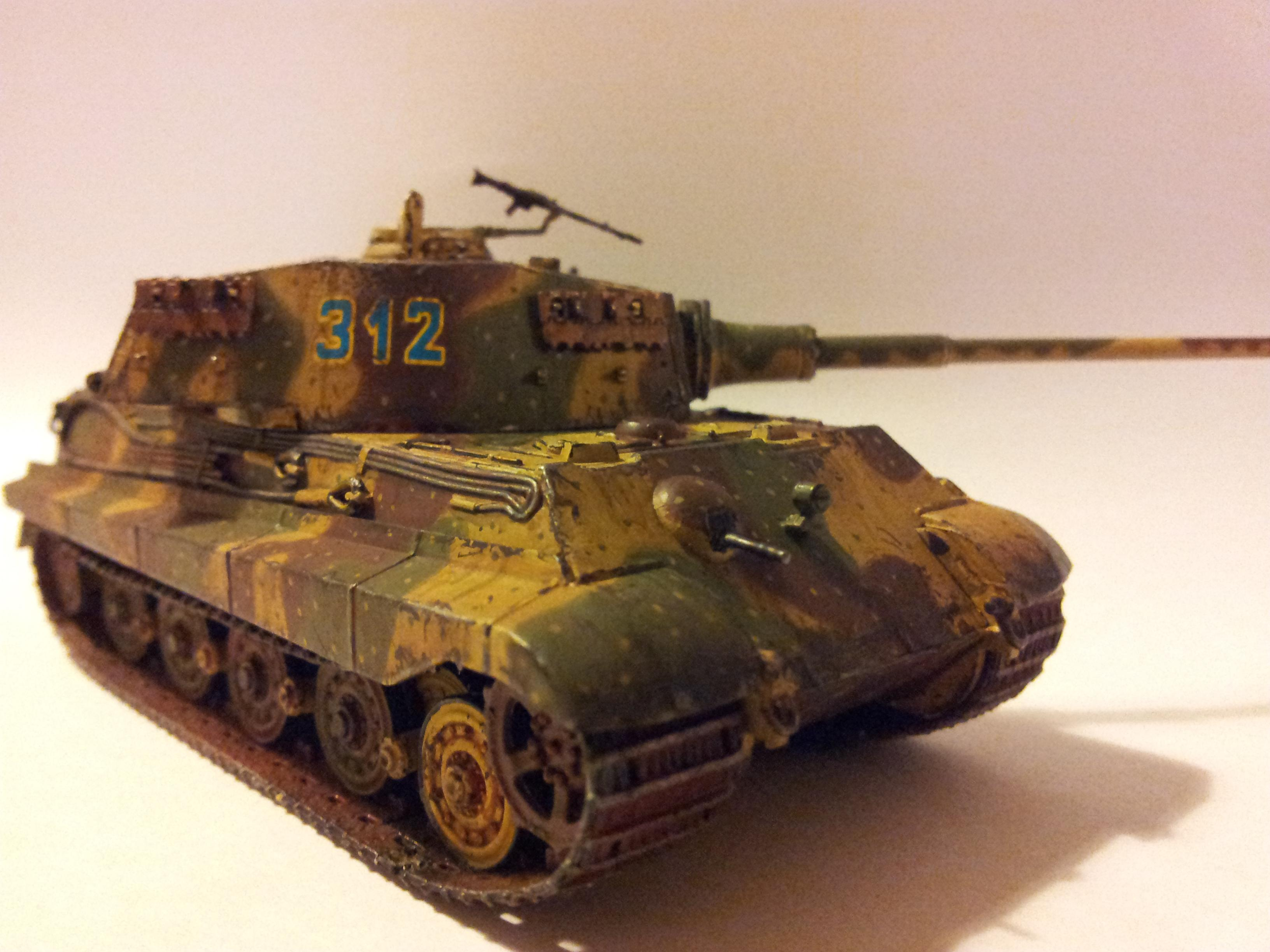 Germans, King Tiger, Panzer, Tank, Tiger, Weathered, World War 2