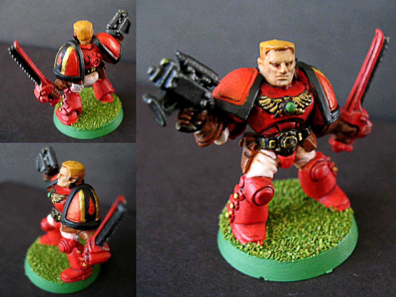 Blood Angels, Out Of Production, Scouts, Sergeant, Space Crusade, Space Marines, Ultra Marines