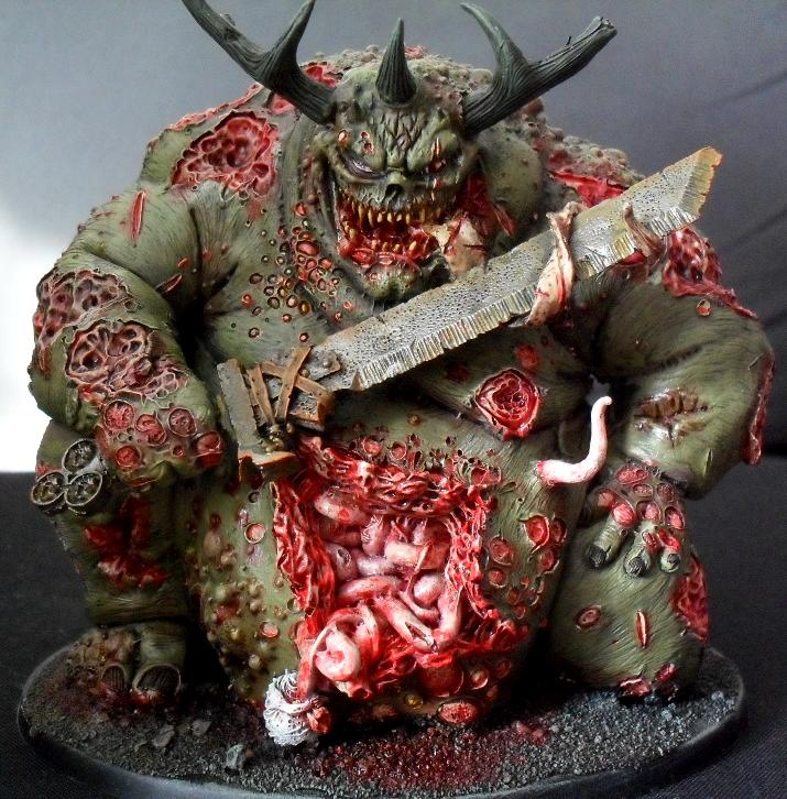 Daemons, Forge World, Great Unclean One, Nurgle, Warhammer 40,000