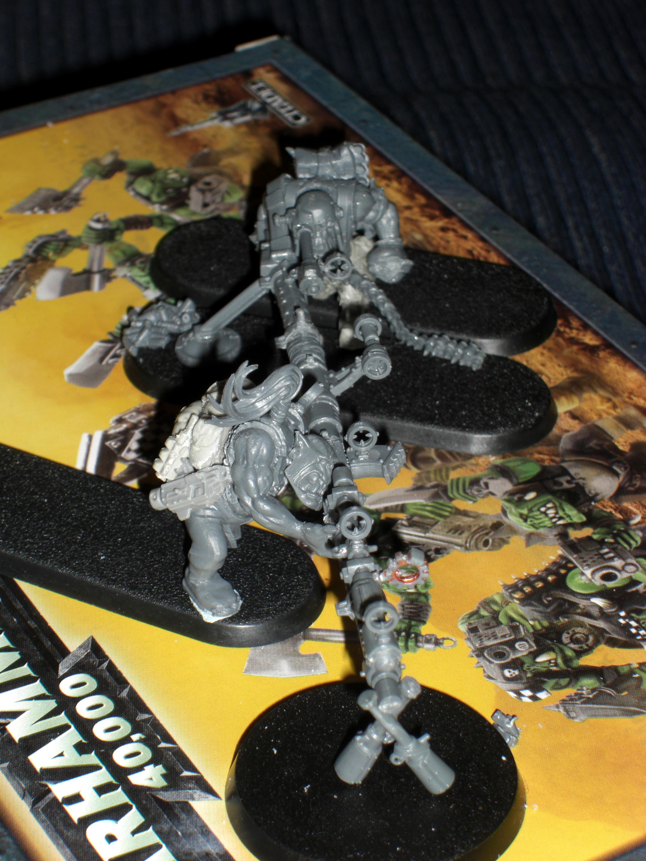 Bash, Kit, Longshot, Ork Sniper Team Wip, Orks, Snipers, Work In Progress
