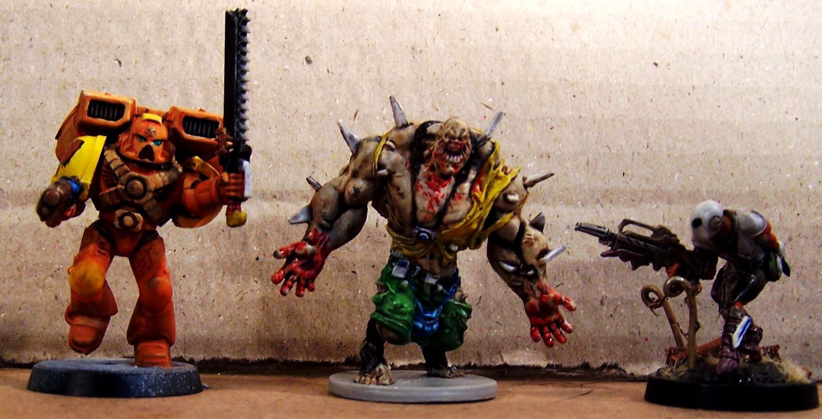Abomination, Assault Marines, Infinity, Nomad, Zero, Zombicide