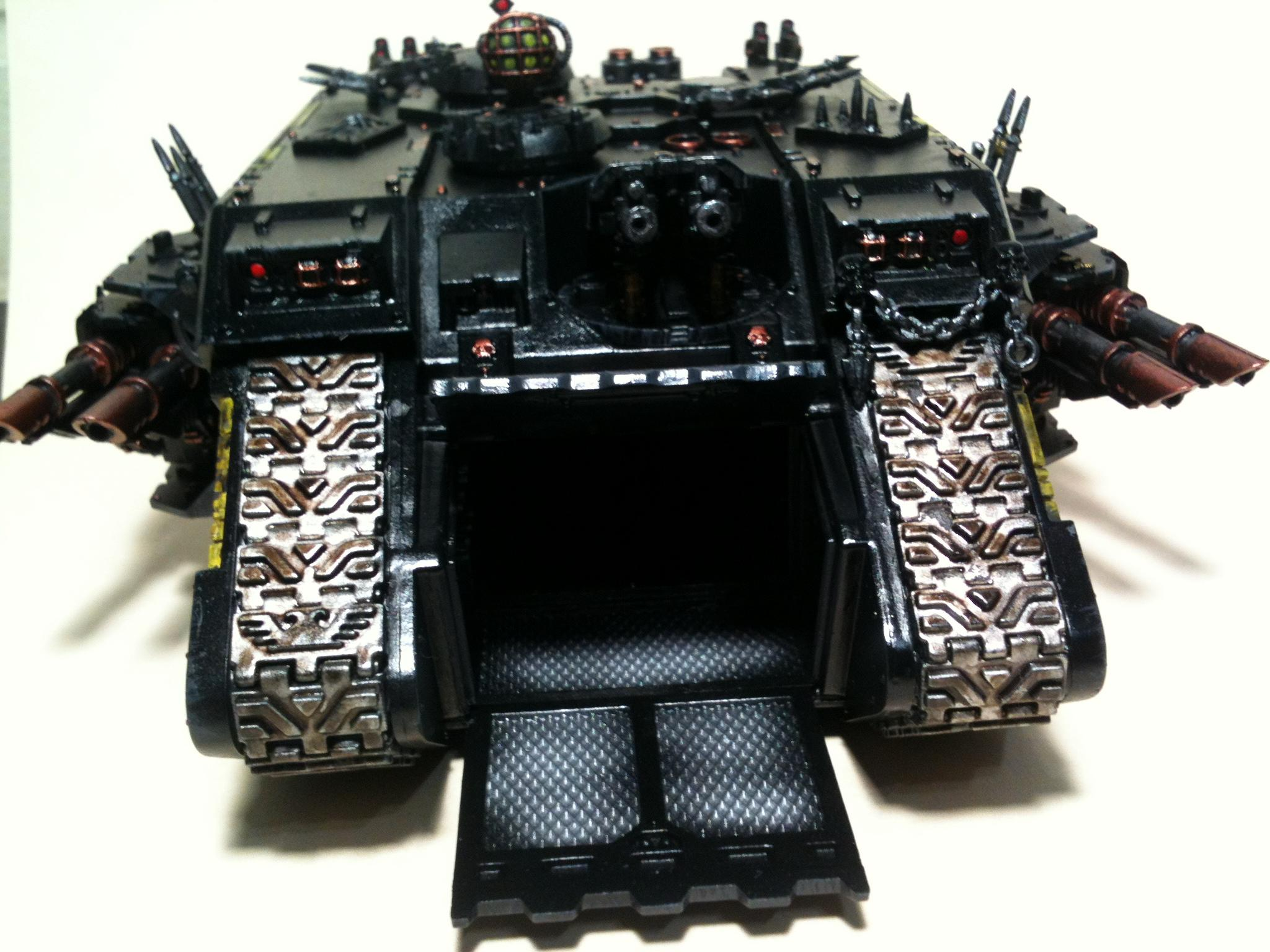 Black Legion, Chaos Space Marines, Land Raider
