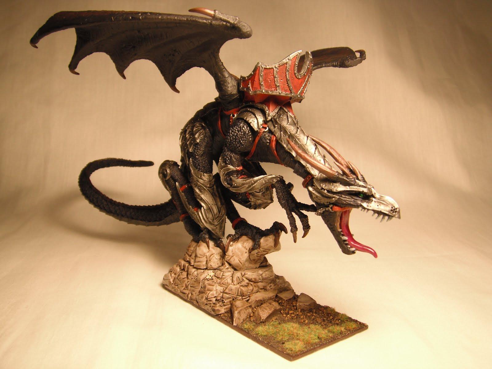Dark Elves, Dragon, Warhammer Fantasy