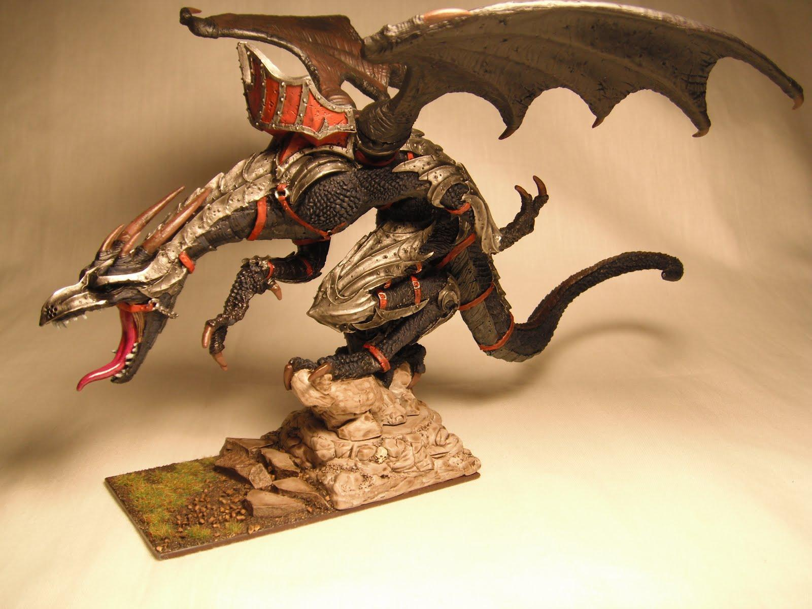 Dark Elves, Dragon, Warhammer Fantasy