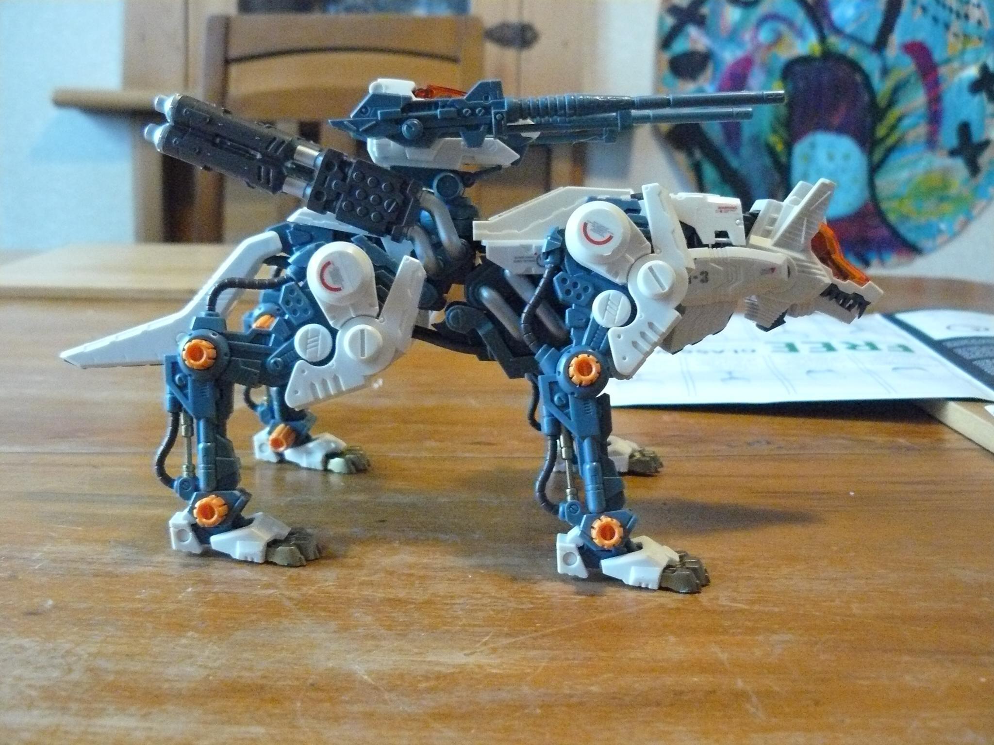 Command Wolf, Manga, Not Warhammer, Robot, Zoids