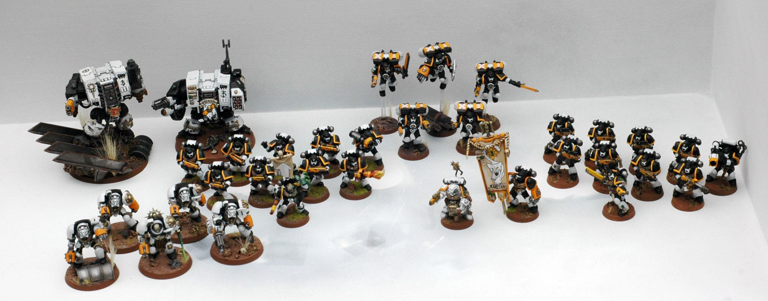 Space Marines, White Panthers