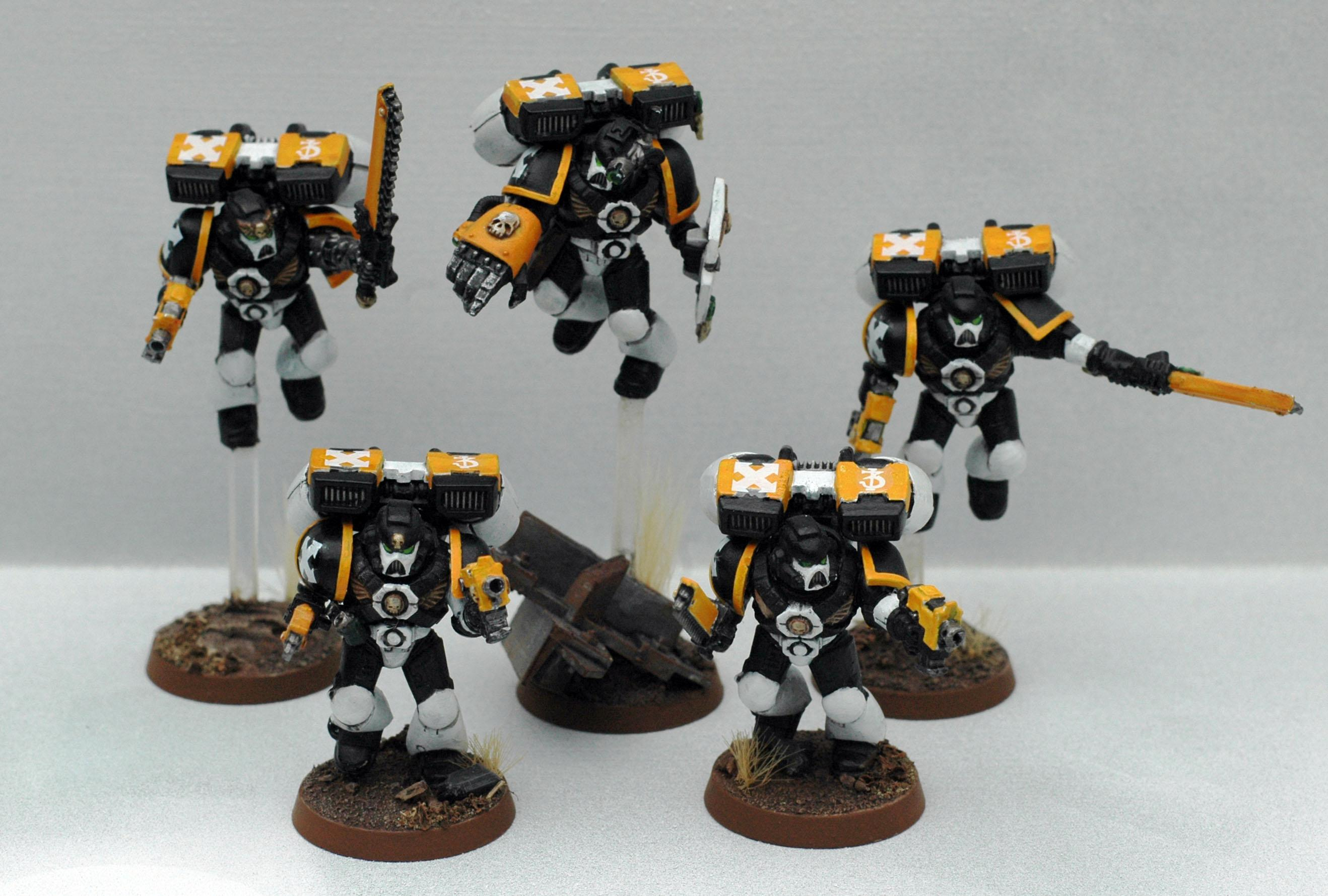 Jump Pack, Jump Troops, Space Marines, White Panthers