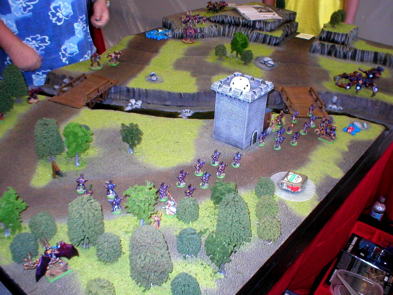 LA Battle bunker Table Circa 2004
