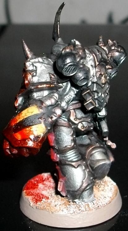 Chaos, Chaos Space Marines, Chosen, Dark Vengeance, Dreadnought, Helbrute, Iron Warriors, Power Fist