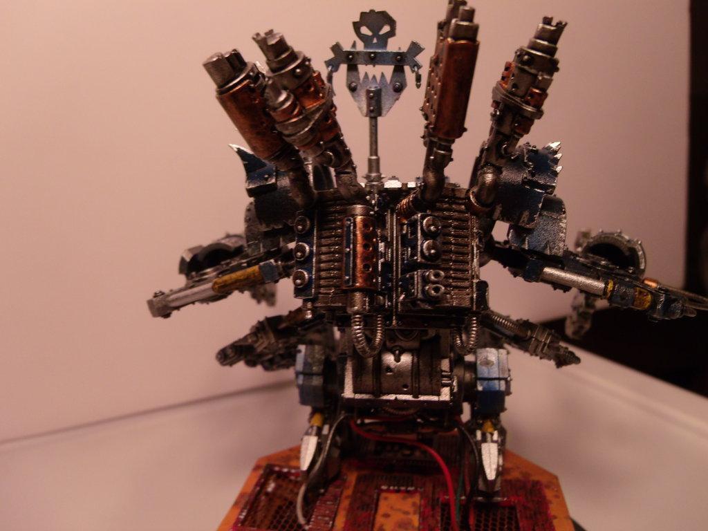 000 40k Steampunk Space Marine Imperial Guard, Orks Deff Dread Deffdread Robot Machine Warhammer 40