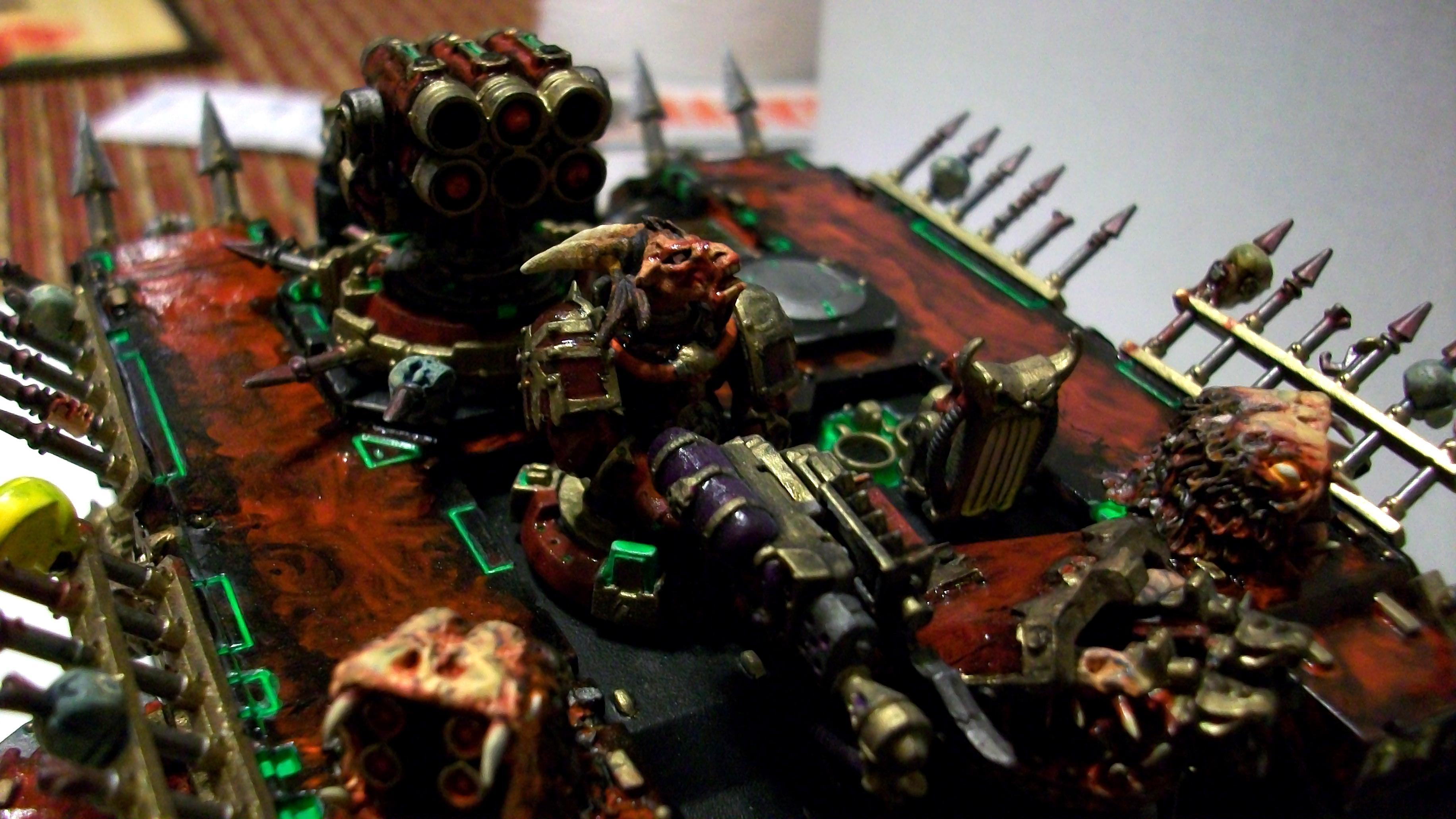 Assault, Chaos, Custom, Greens Stuff, Khorne, Land Raider, Lascannon, Nurgle, Possessed, Slaanesh, Space Marines, Terminator Armor, Transport, Tzeentch, Vehicle