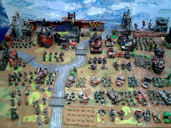 Apoalypse, Army, Display, Lcots, Orks, Pip, Speedfreak, Warhammer 40,000, Work In Progress