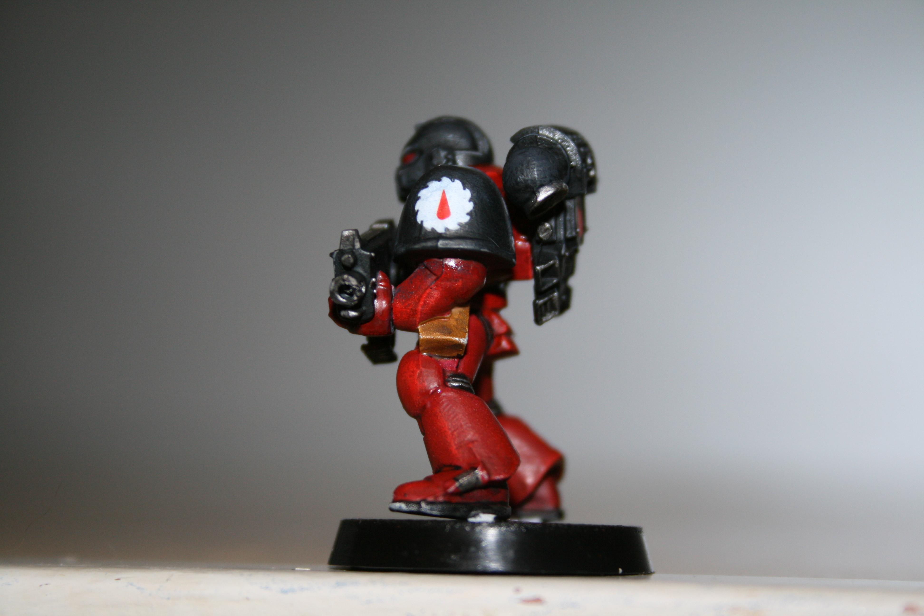 Red ink, Matt Varnish & Badaab black touch up