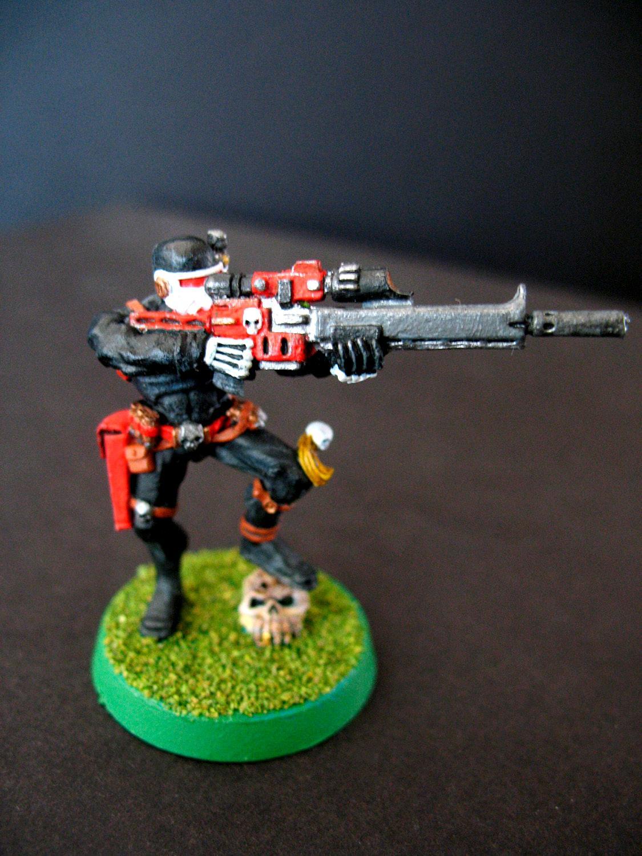 Exitus Rifle, Officio Assassinorum, Vindicare Assassin