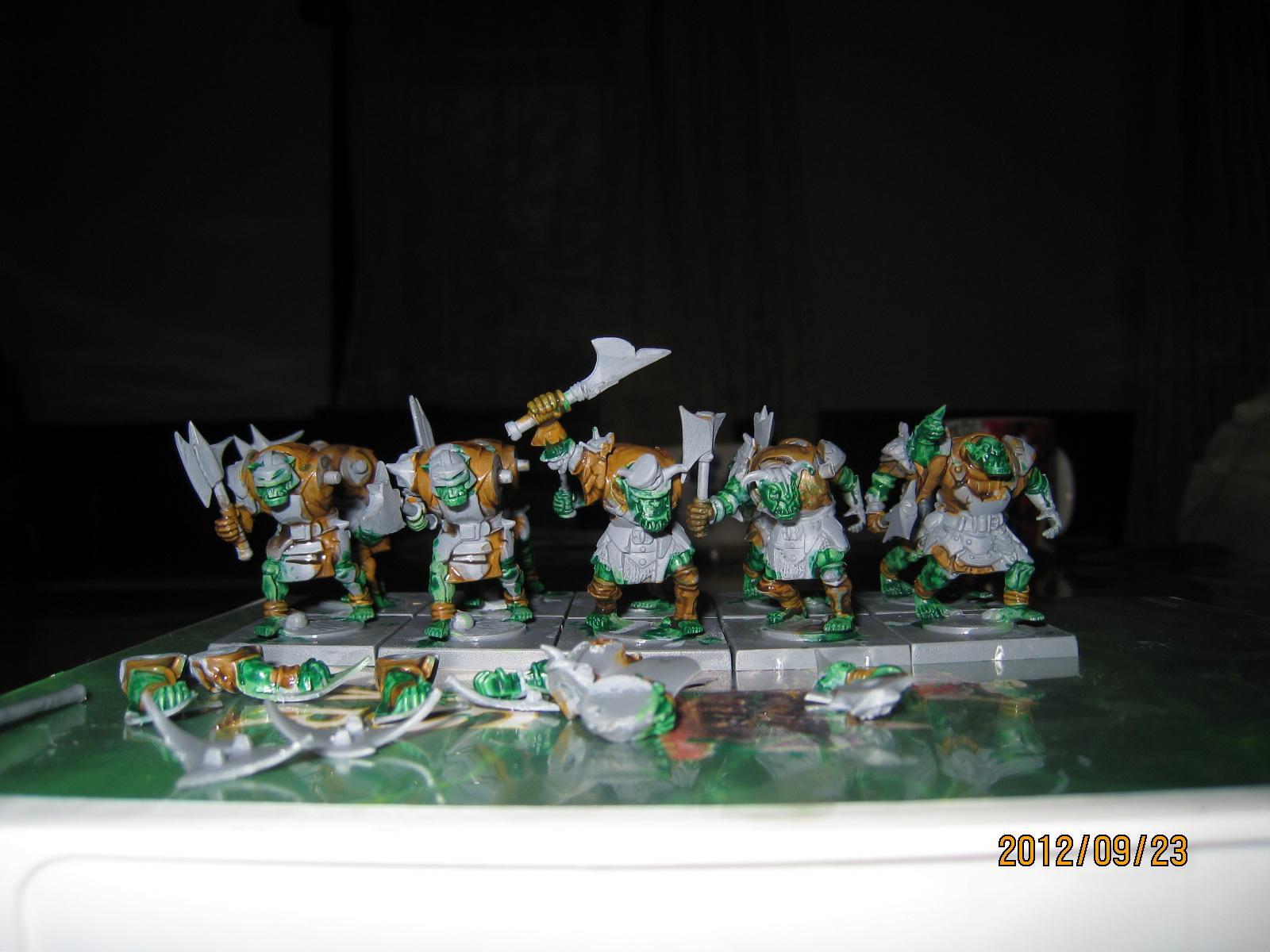 Axe, Mantic, Orcs