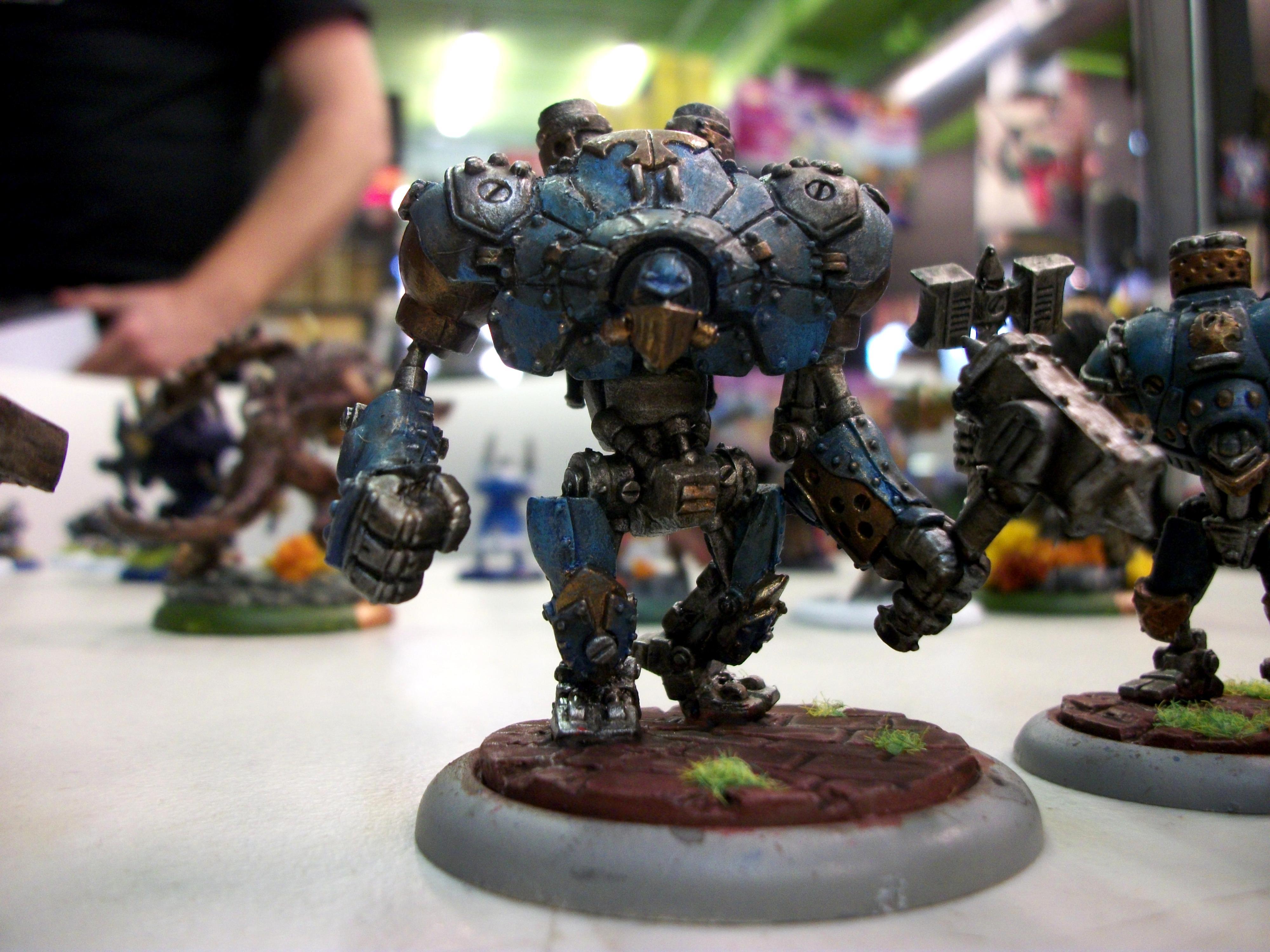 Cygnar, Ironclad, Warmachine