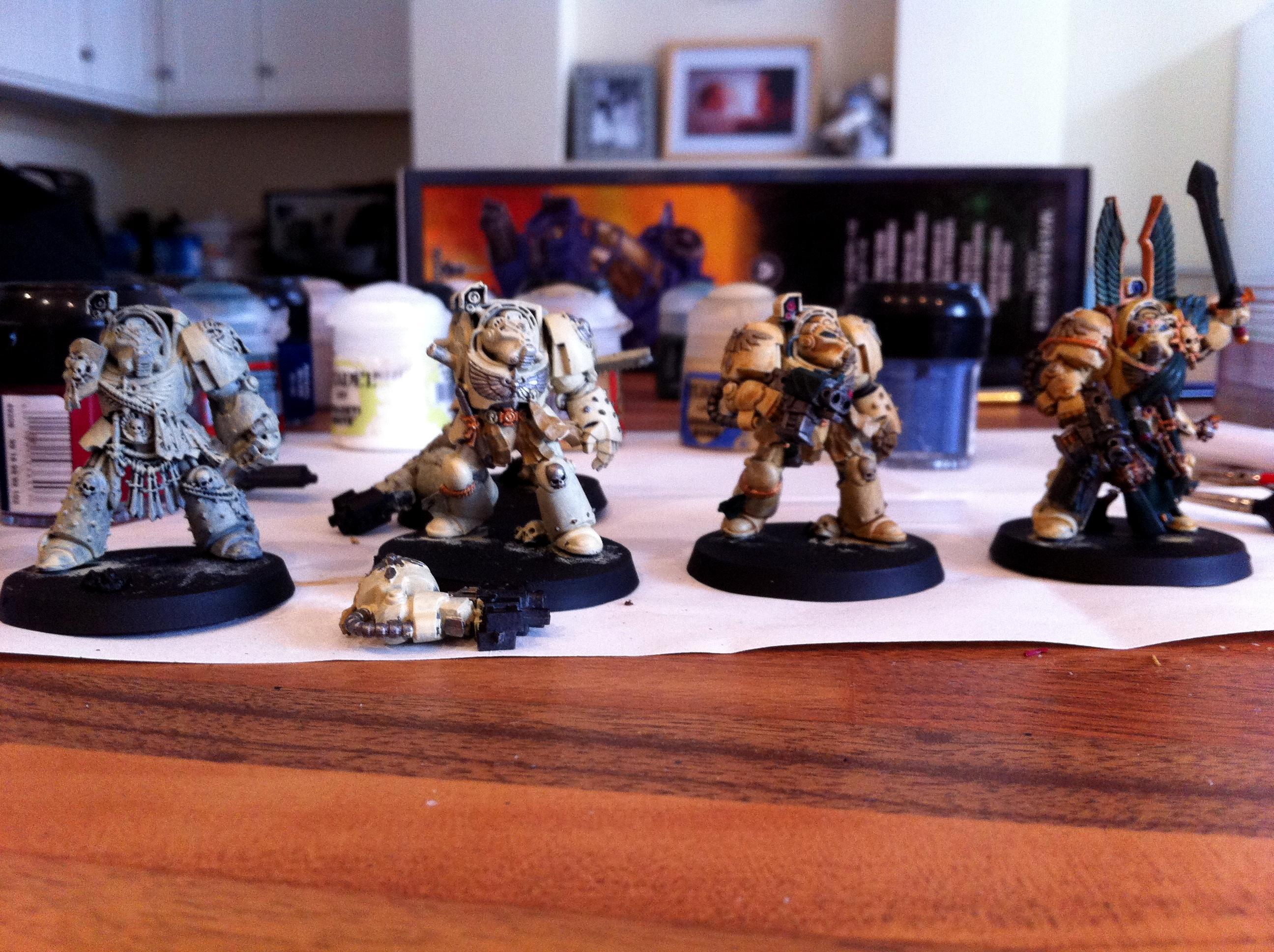 Angel, Dark, Deathwing, Terminator Armor, Vengeance