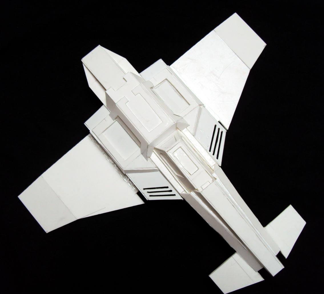 Flyer, Scratch Build, Thunderbolt Fighter, Warhammer 40,000, Work In Progress