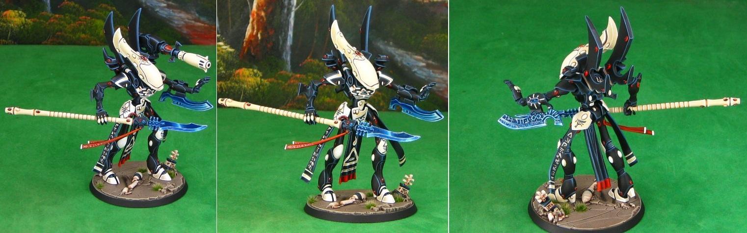 Eldar, Eldar Wraithlord, Eldar Wraithseer, Ulthwe, Ulthwe Craftworld, Warhammer 40,000, Wraithlord, Wraithseer