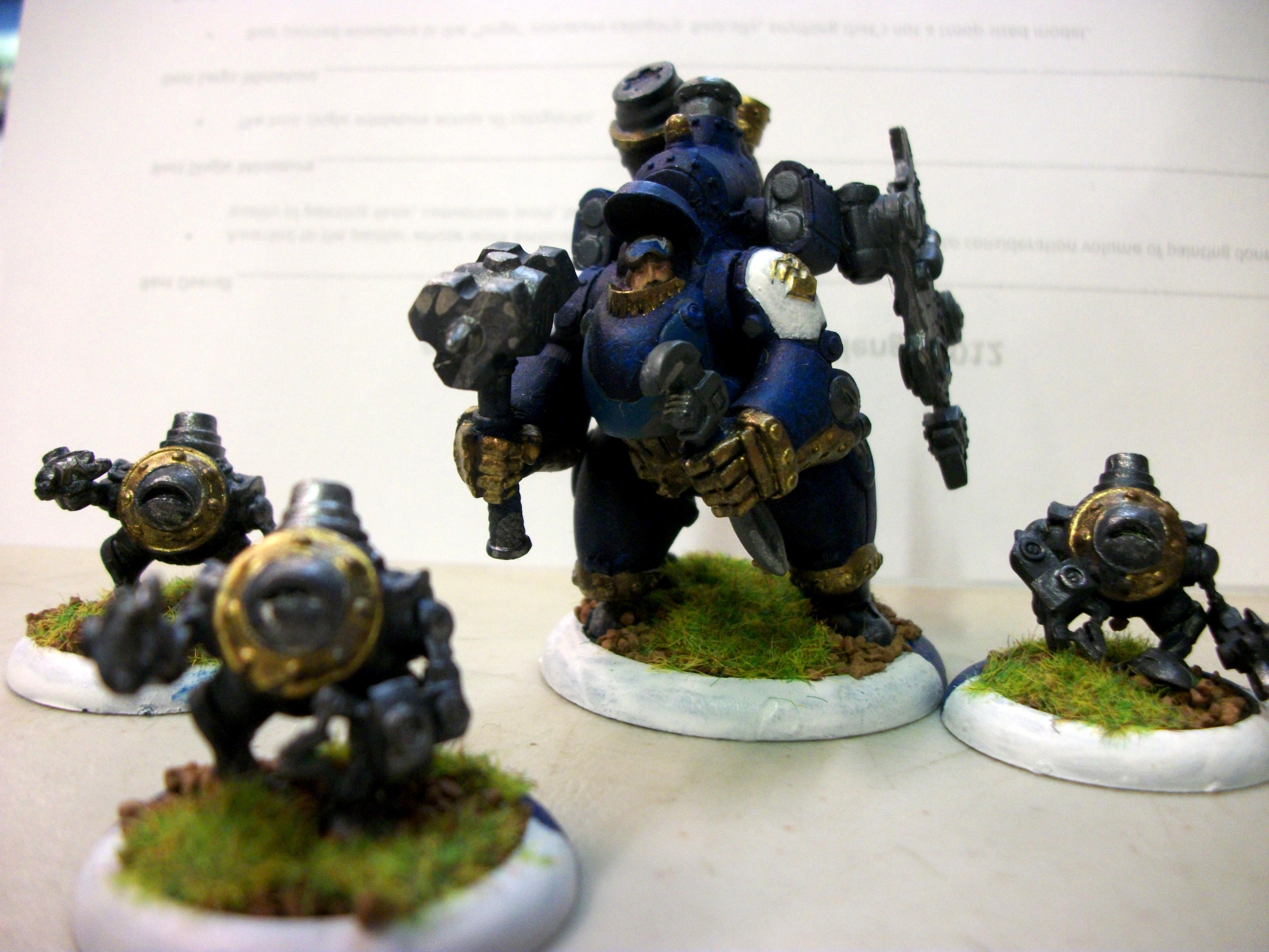 Cygnar, Darius, Warmachine