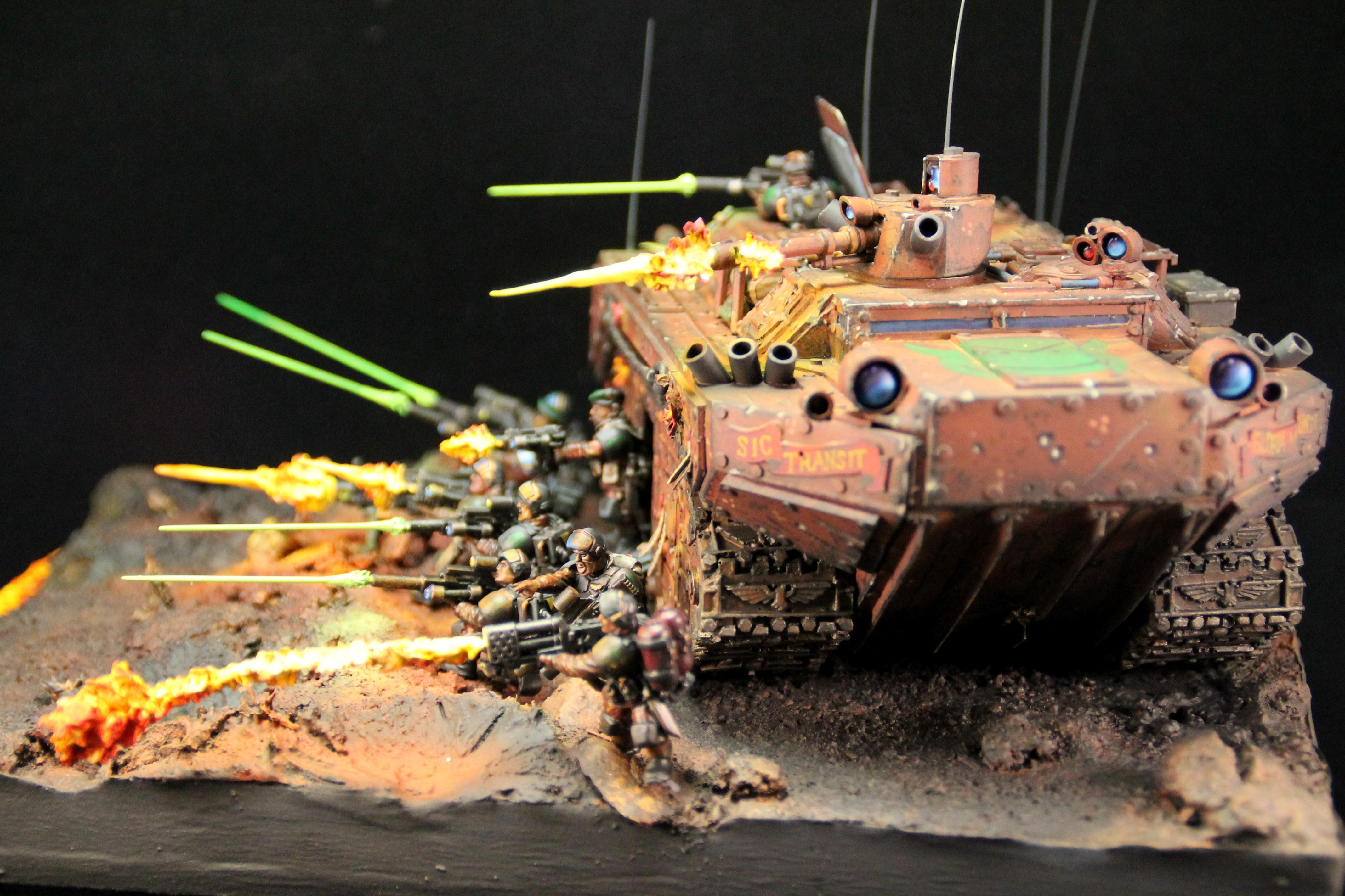 Armor, Astra Militarum, Diorama, Imperial Guard, Warhammer 40,000, Why Have They Got Lightsabers?