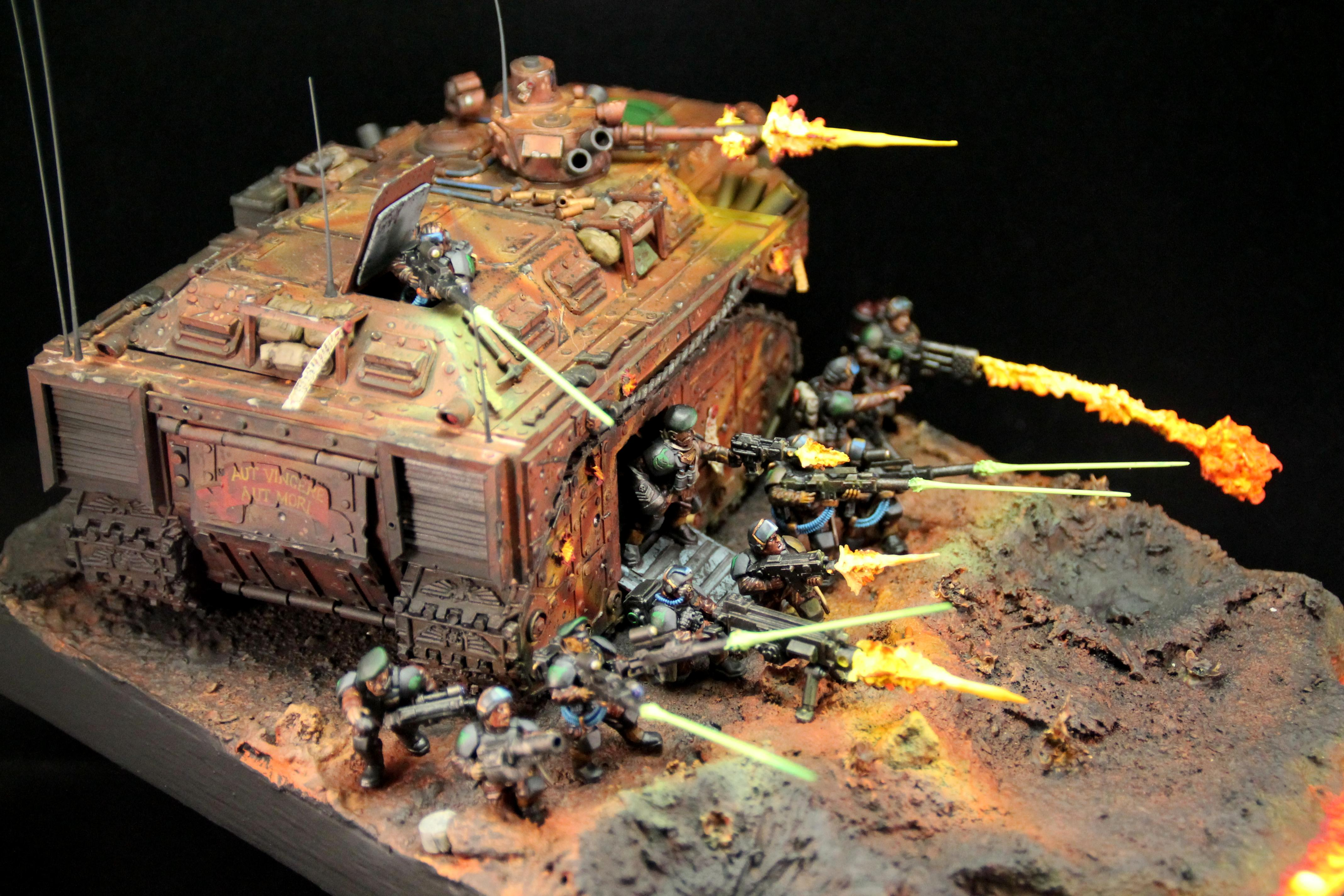 Apc, Imperial Guard, Lasers, Last Stand