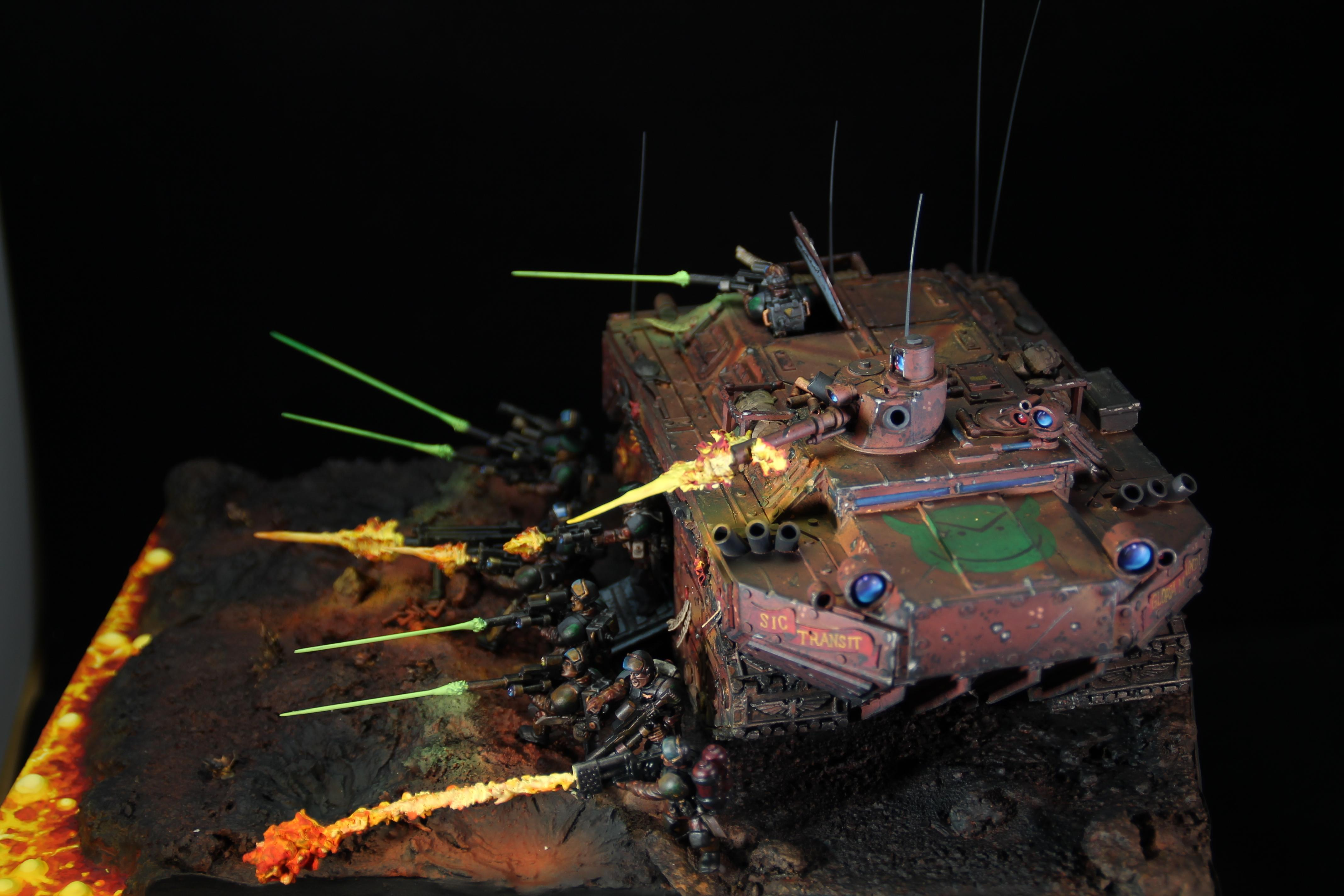 Chimera, Diarama, Imperial Guard, Object Source Lighting