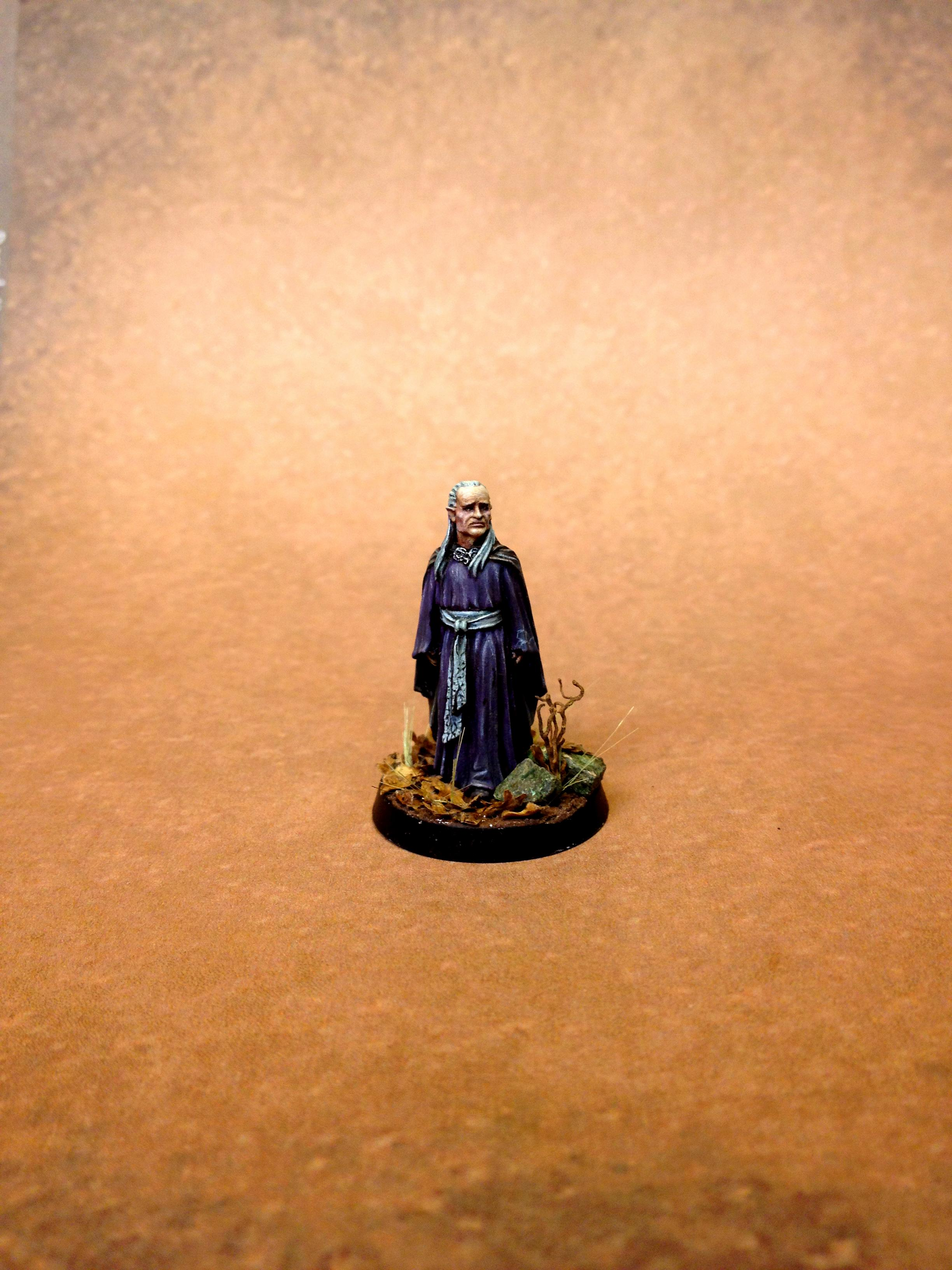 Elves, Lord Of The Rings, Purple, Woody Base