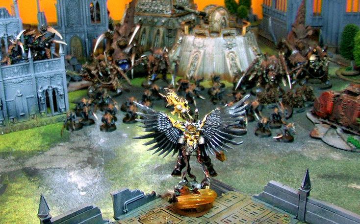 Beastmen, Dark, Jump, Malagor, Omen, Pack, Priest, Rune, Space, Space Marines, Warhammer 40,000, Wolves