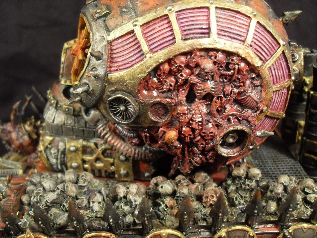 Cauldron Of Blood, Daemons, Khorne, Land Raider, Skull, World Eaters