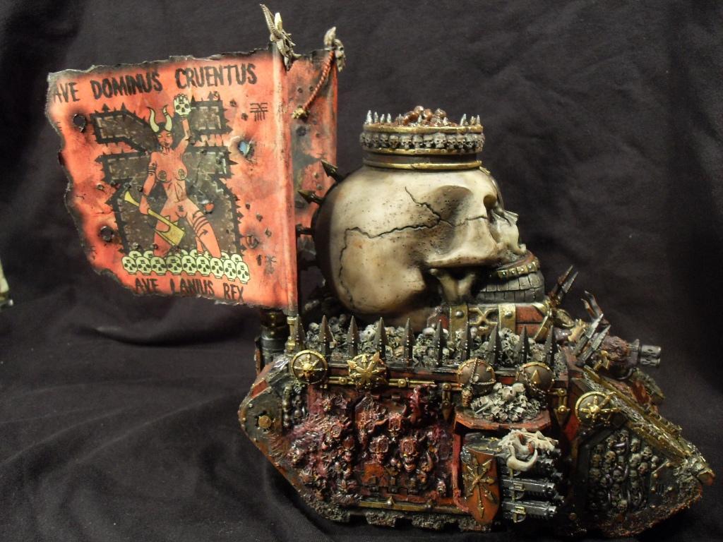 Cauldron Of Blood, Daemons, Khorne, Land Raider, Nsfw, Skull, World Eaters