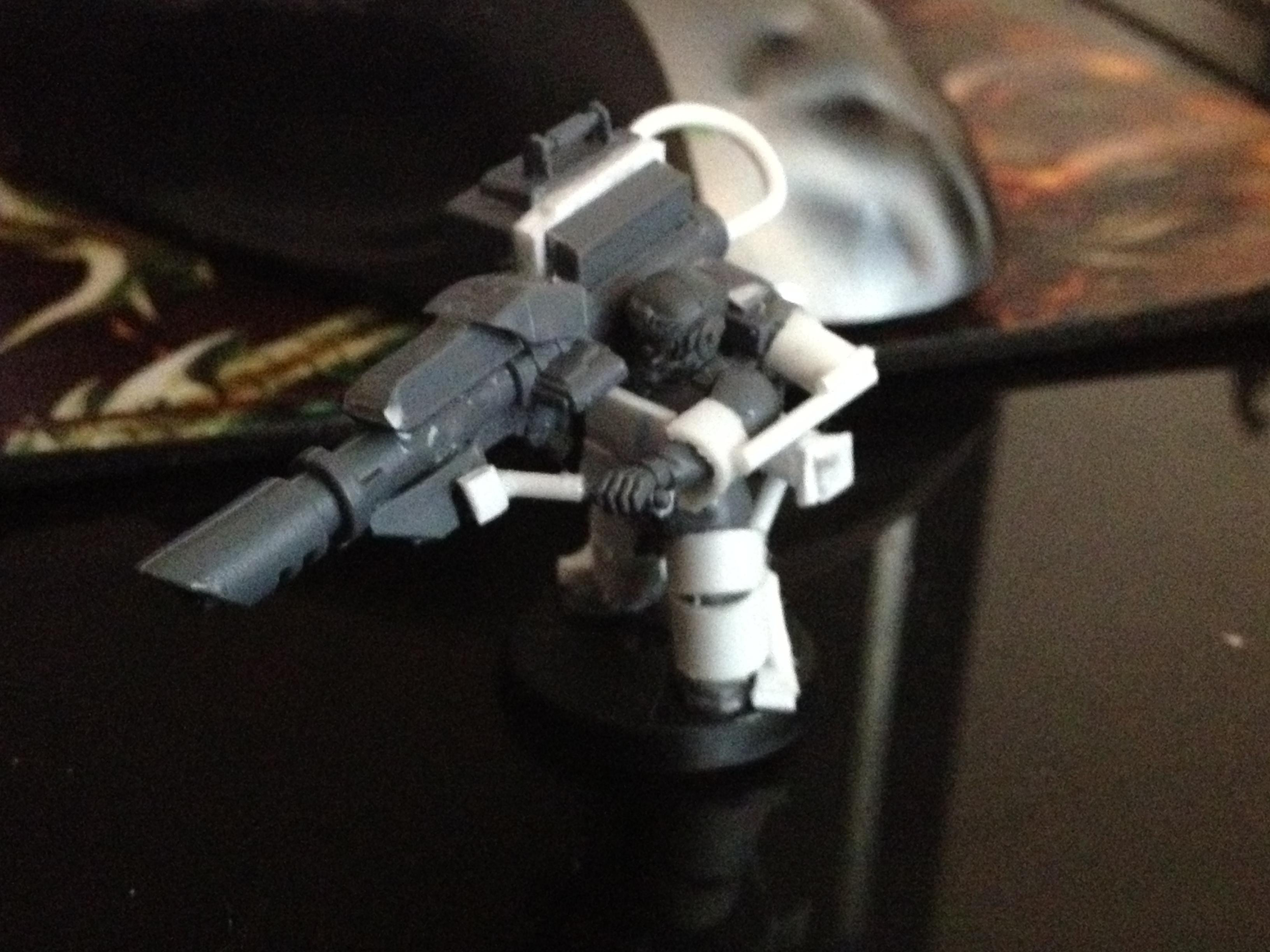 Heavy Weapons Trooper. Lascannon