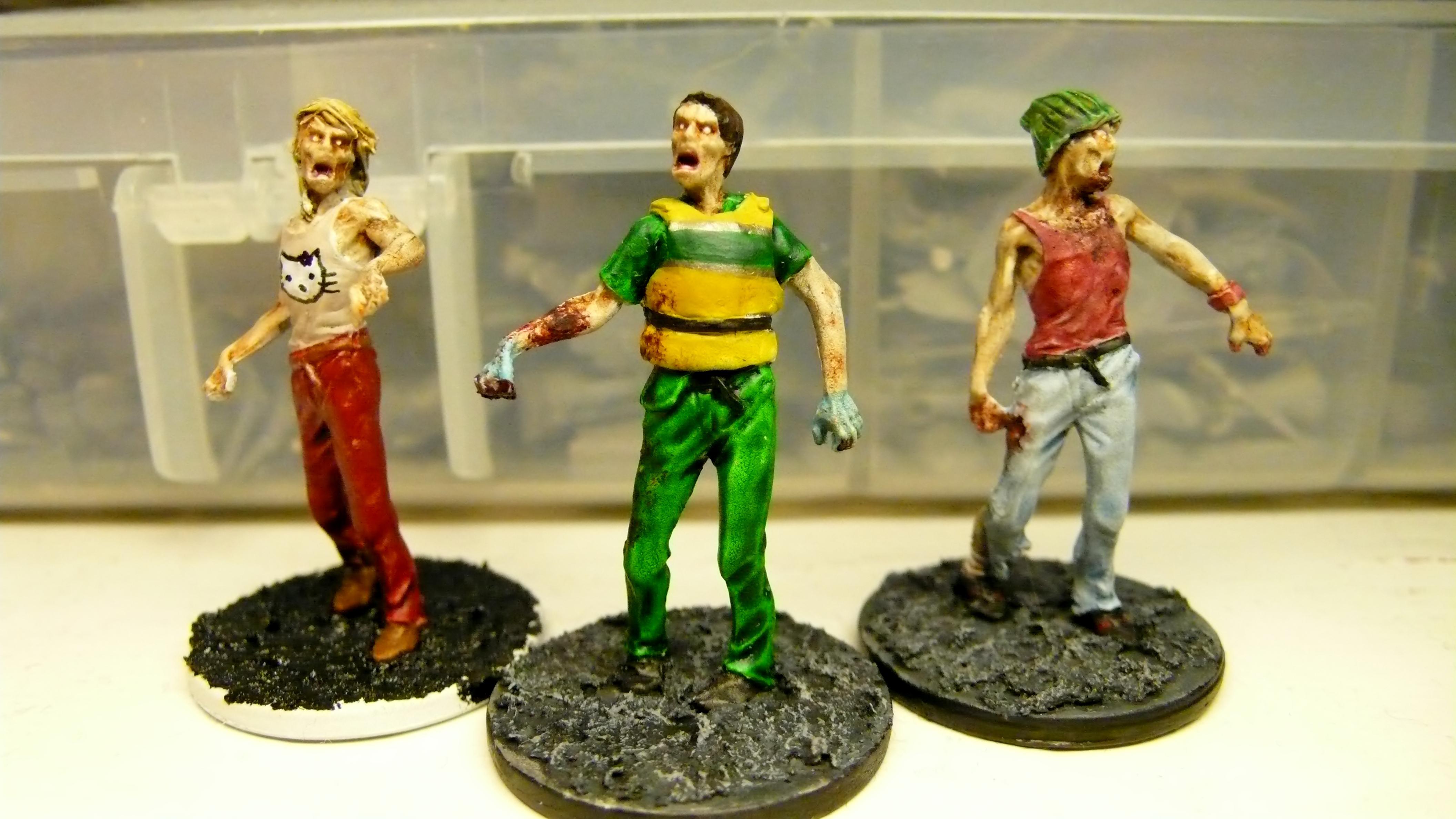 Kitty, Paramedic, Walker, Zombicide, Zombie
