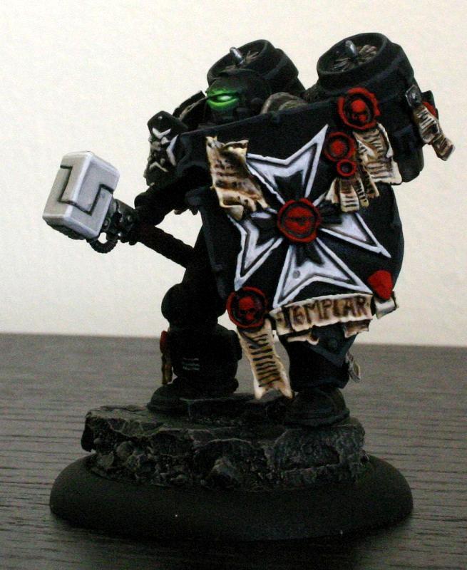 Black Templars, Deathwatch, Space Marines, Storm Shield, Thunder Hammer, Warhammer 40,000