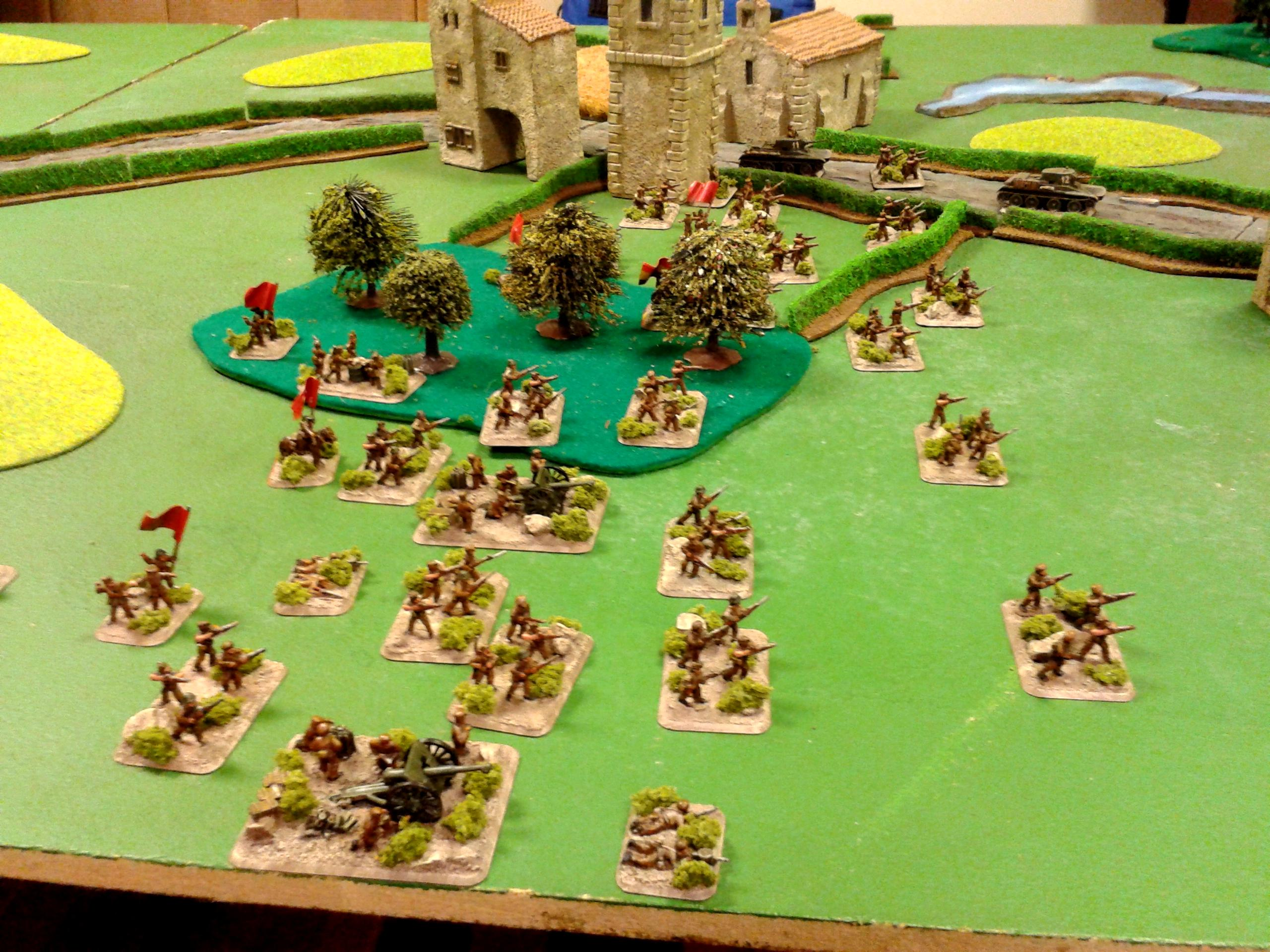 15mm, Flames Of War, Historical, Spain, Spain In Flames, Spanish Civil War