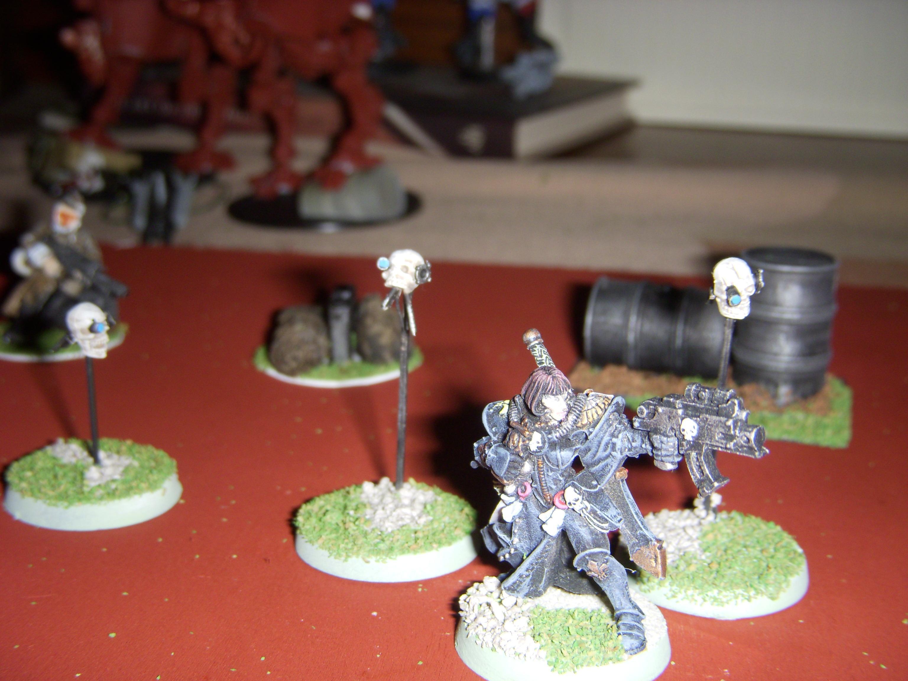Henchmen, Inquisitor, Servo-skull