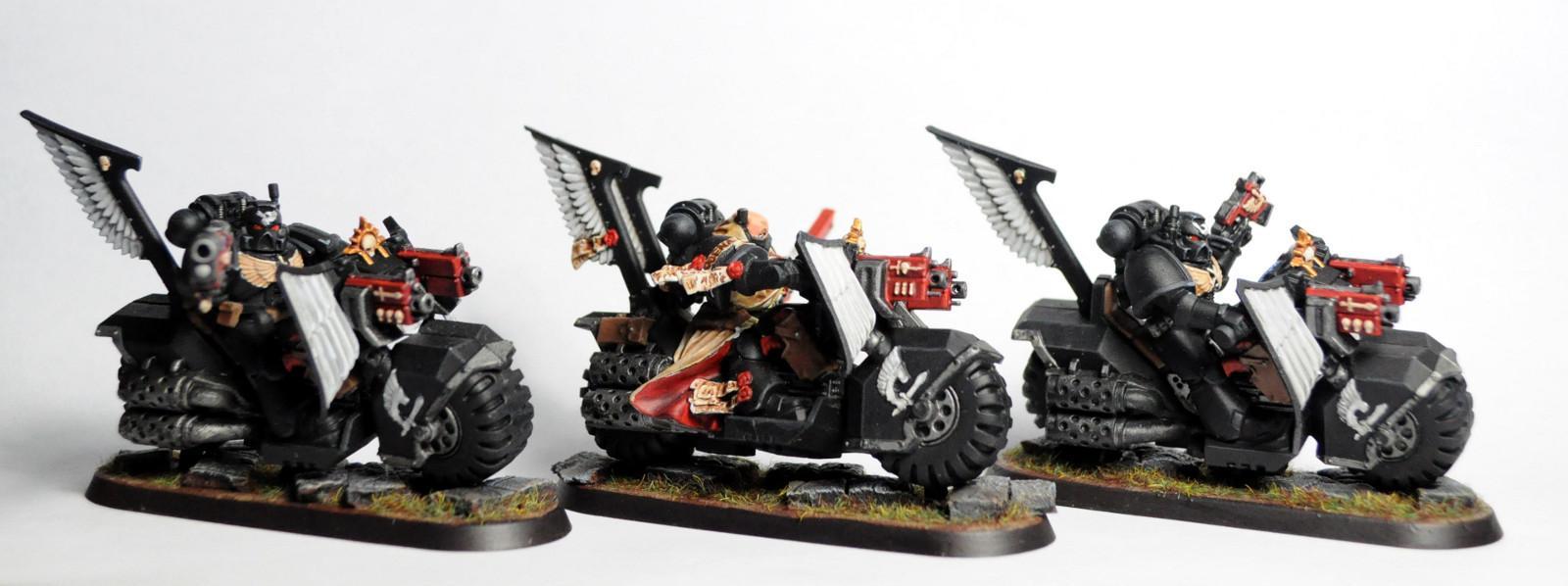 Dark Angels, Ravenwing, Space Marines, Warhammer 40,000