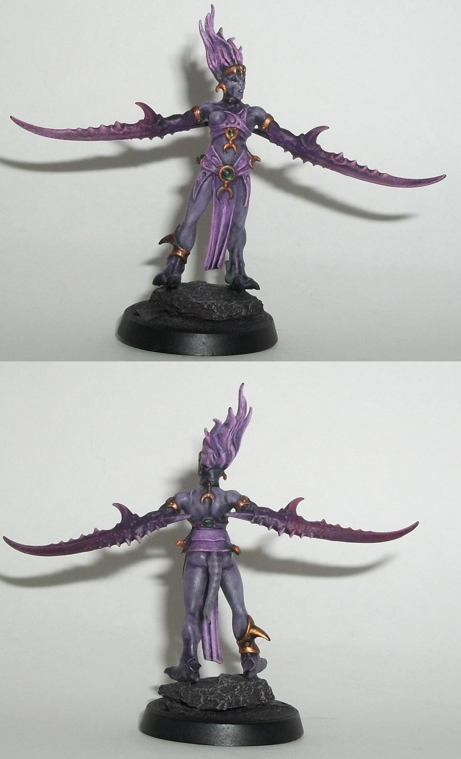 Herald of Slaanesh 1 WIP 9
