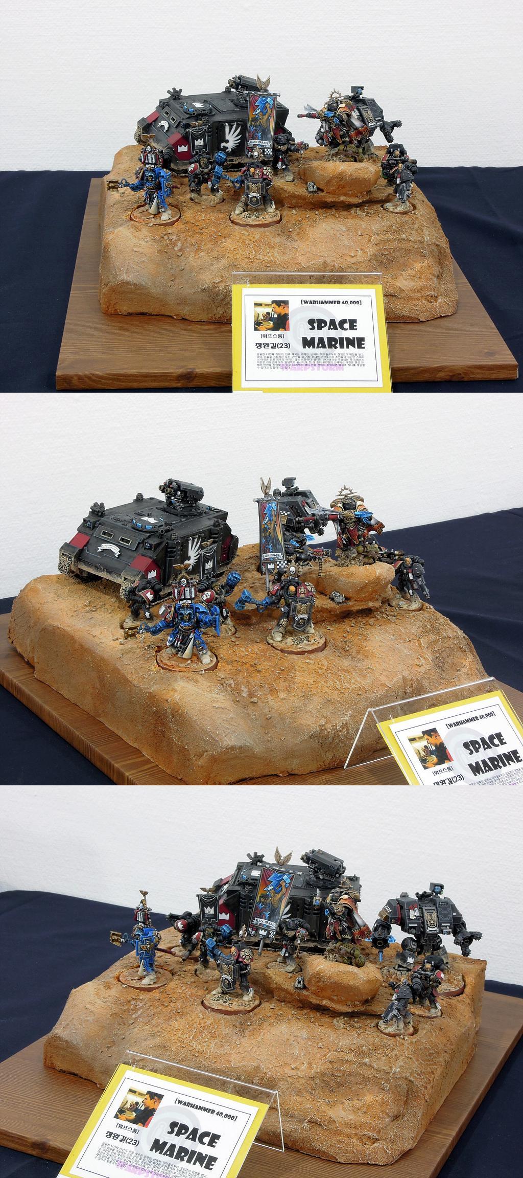 Diorama, Display, Exhibition, Infinity, Space Marines, Warhammer 40,000, Warhammer Fantasy