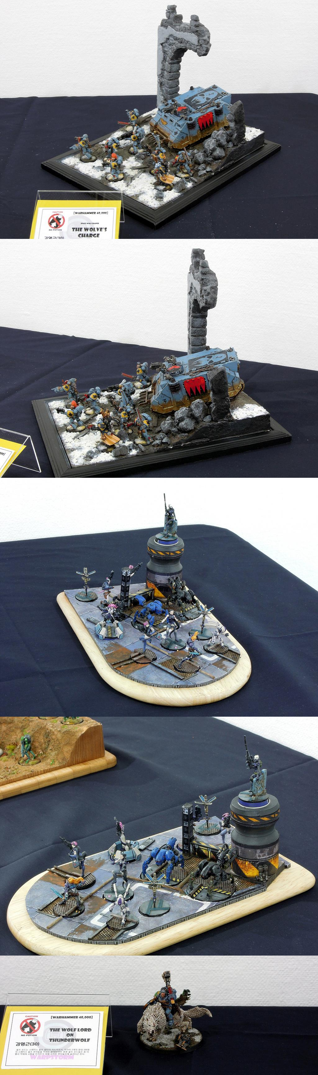 Aleph, Diorama, Display, Exhibition, Infinity, Space Wolves, Warhammer 40,000, Warhammer Fantasy