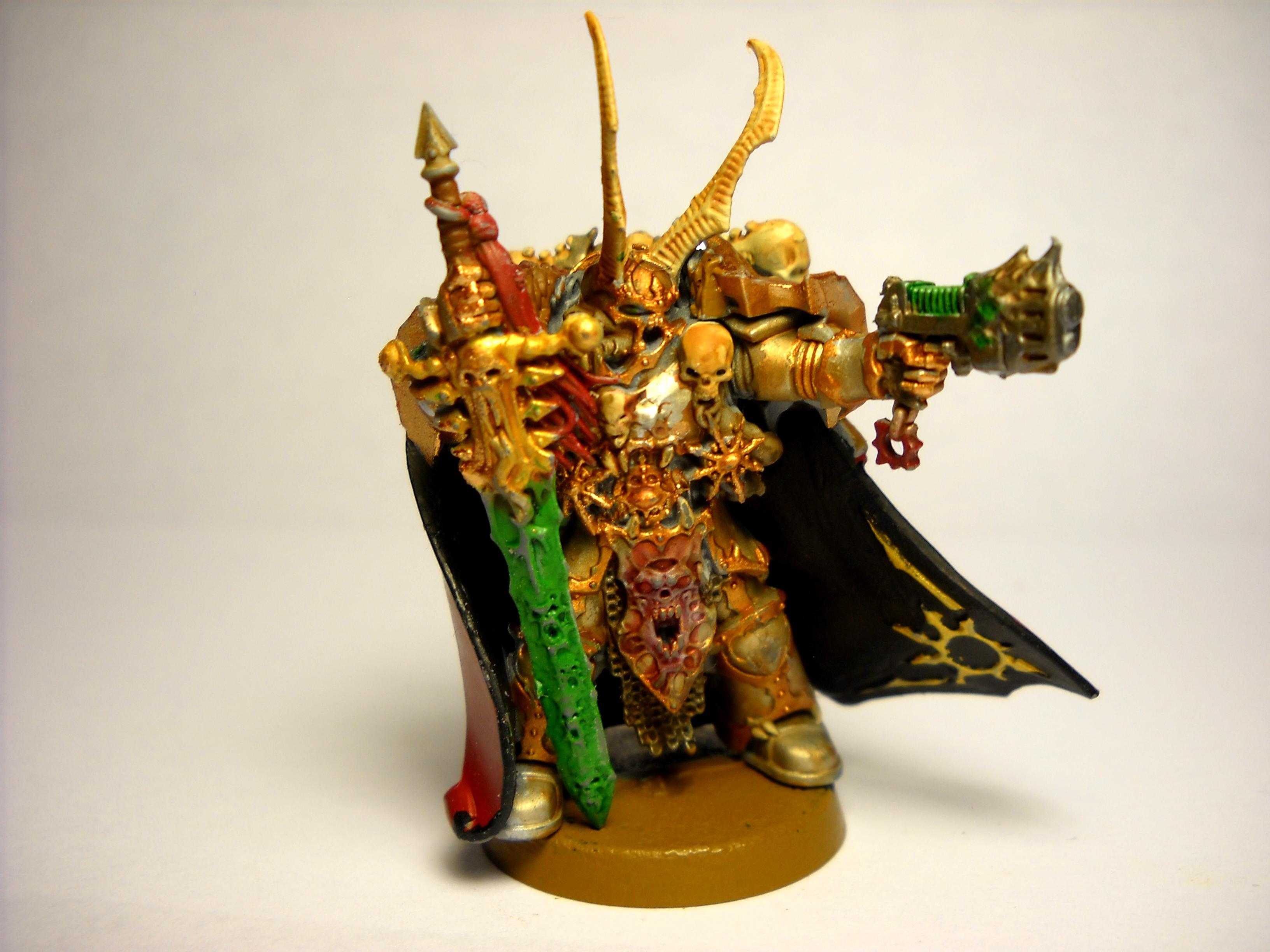 Dark Vengeance, Kranon The Relentless, Kranon The Relentless Chaos Marine Lord Sword