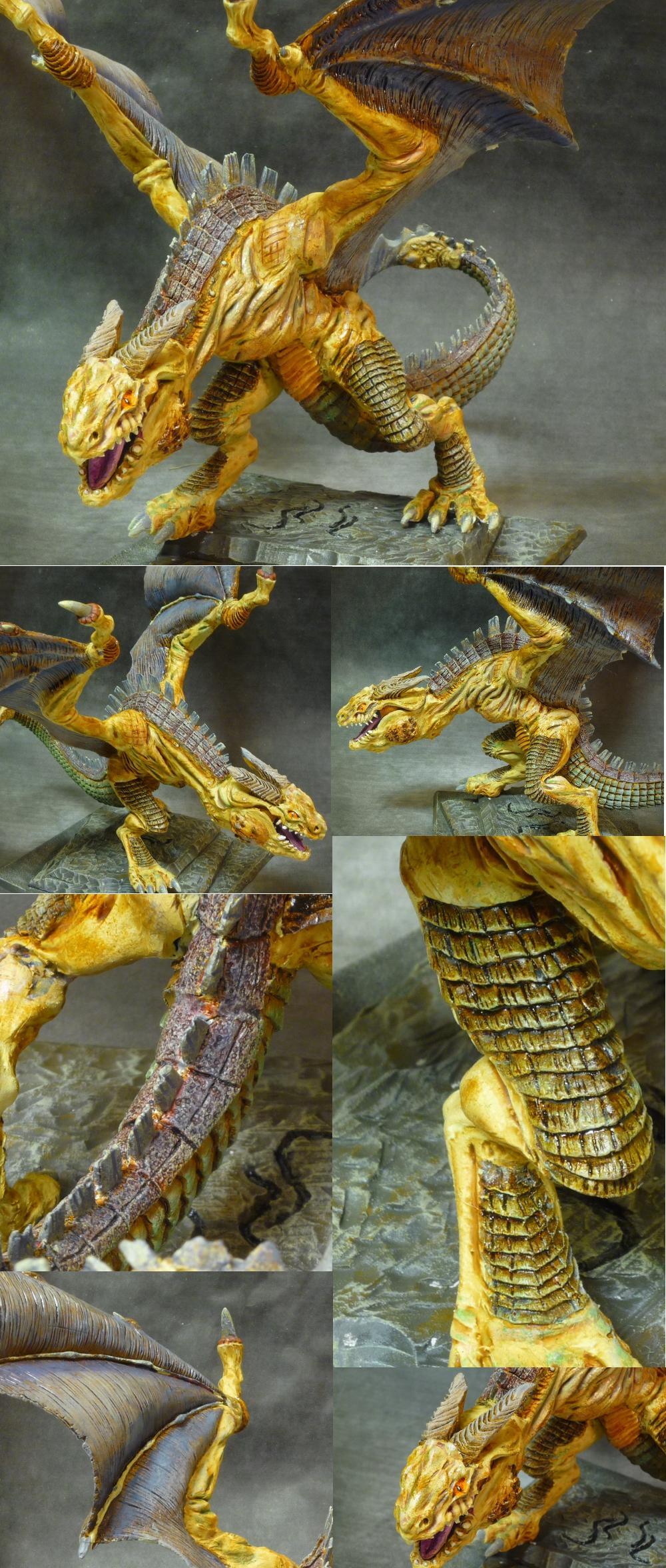 Dragon, Warhammer Fantasy, Yellow