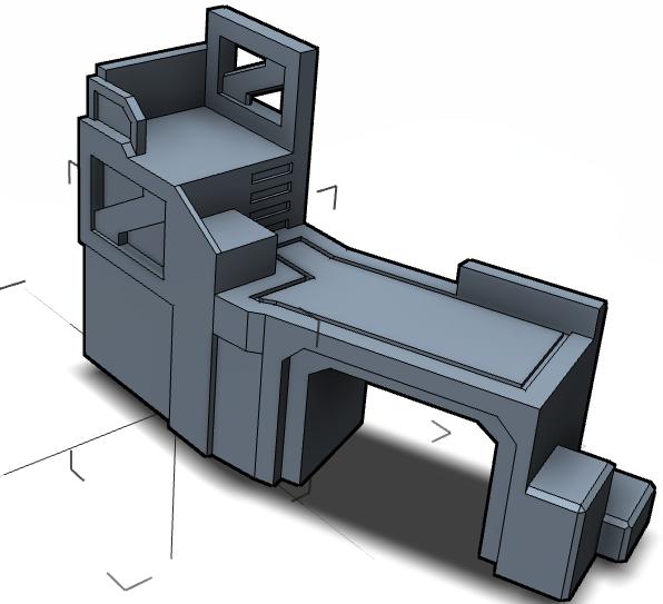 CAD Terrain Concept