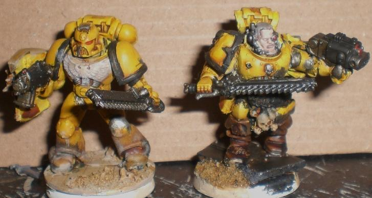 Conversion, Space Marines, Warhammer 40,000, Yellow