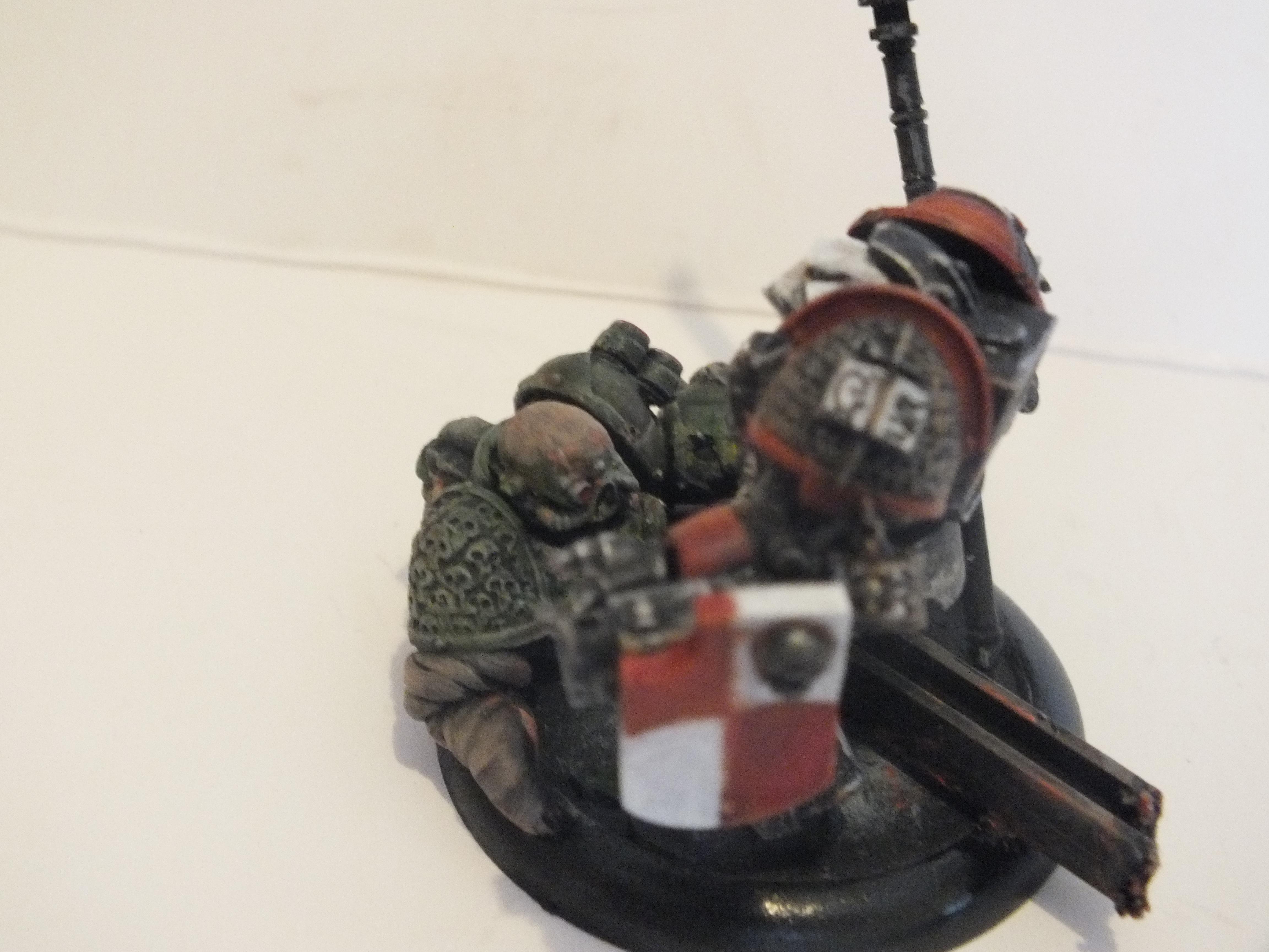 GK Paladin vs Death Guard detail