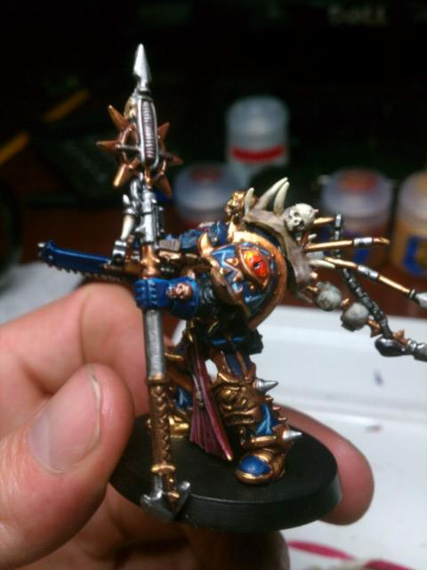 Chaos, Daemon Prince, First Attempt, Mod, Night, Night Lord, Nightlord, Terminator Armor