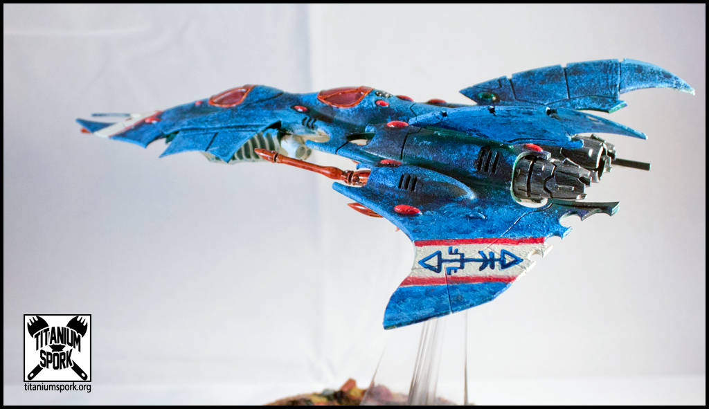 Bomber, Craftworld, Craftworld Eldar, Dark Eldar, Eldar, Fliers, Razorwing, Rokugnar, Voidraven