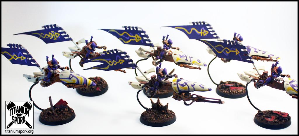 Craftworld, Eldar, Guardians, Jetbike, Rokugnar