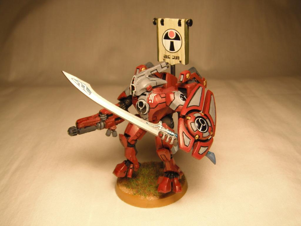Army, Battle, Battlesuit, Commander, Conversion, Farsight, Kitbash, R'myr, Suit, Tau, Warhammer 40,000
