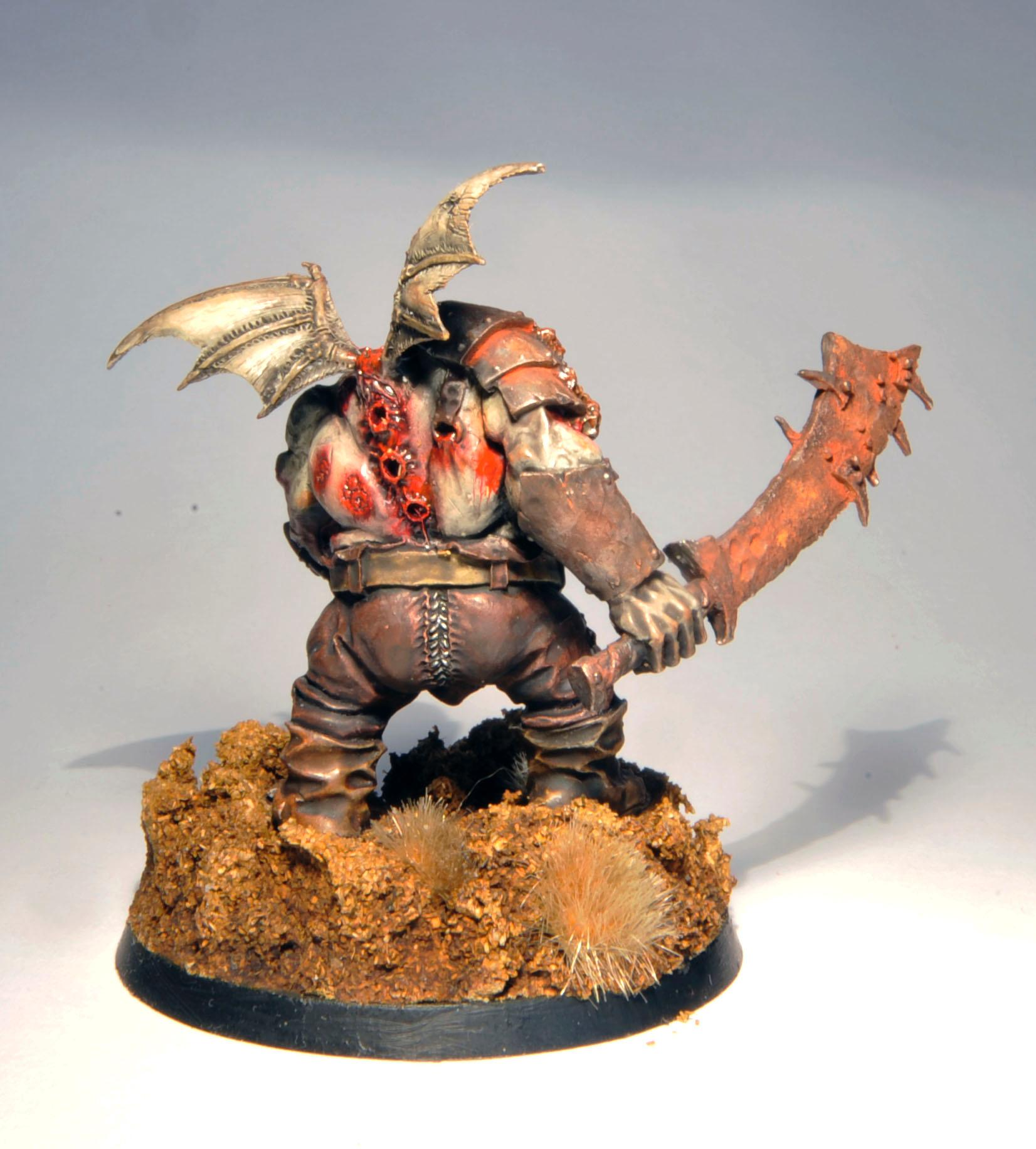 Chaos, Daemons, Forge World, Nurgle, Ogres, Plague, Prince, Rusty, Winged